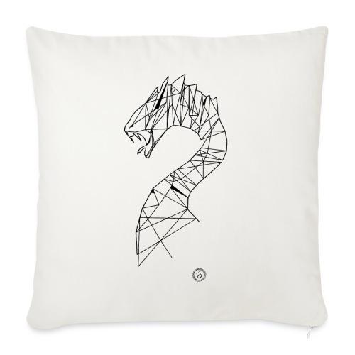 Jormundgard - Geometrisk lineart - Sofapude med fyld 44 x 44 cm