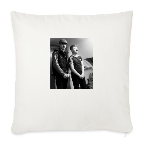 El Patron y Don Jay - Sofa pillow with filling 45cm x 45cm