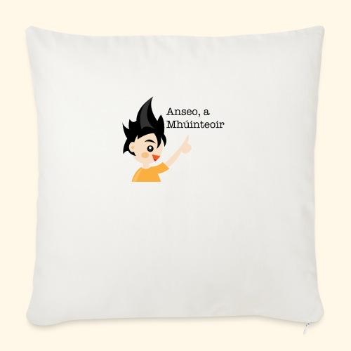 anseo, a mhúinteoir - Sofa pillow with filling 45cm x 45cm