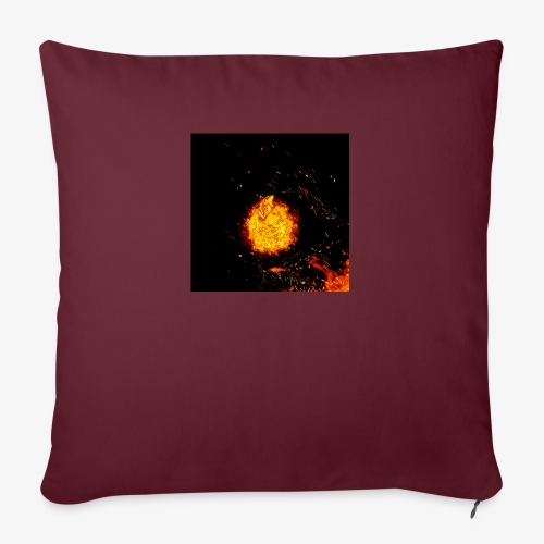 FIRE BEAST - Bankkussen met vulling 44 x 44 cm
