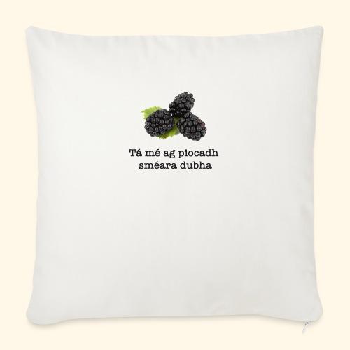 Picking blackberries - Sofa pillow with filling 45cm x 45cm