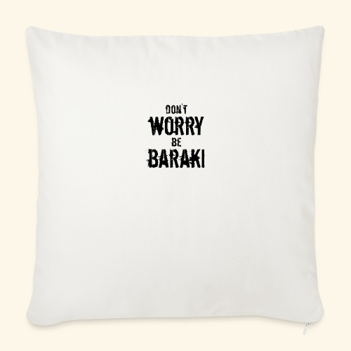 Be Baraki (Noir) - Coussin et housse de 45 x 45 cm