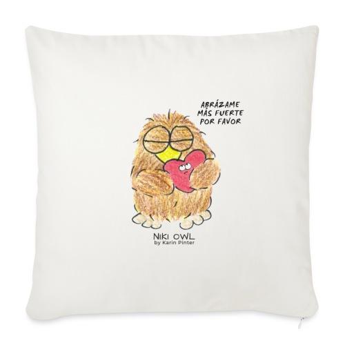 Niki Owl Abrázame Más Fuerte Por Favor - Sofa pillow with filling 45cm x 45cm