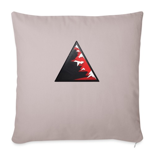 Climb high as a mountains to achieve high - Sofa pillow with filling 45cm x 45cm