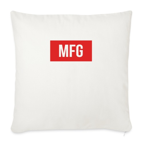 MFG on Youtube Logo - Sofa pillow with filling 45cm x 45cm