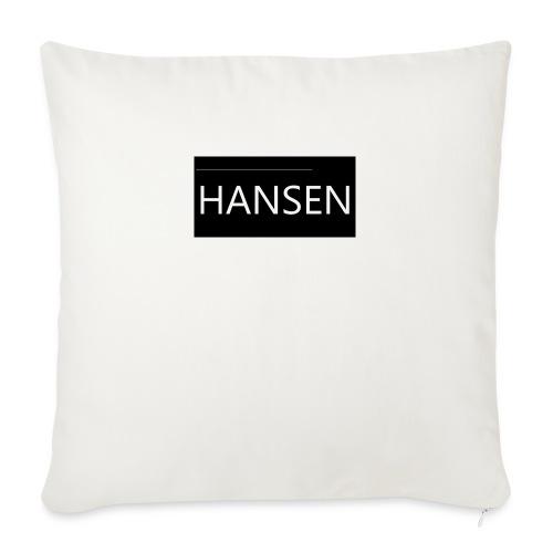 HANSENLOGO - Sofapude med fyld 44 x 44 cm