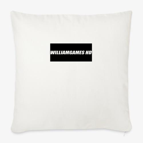 william shirt logo - Sofa pillow with filling 45cm x 45cm