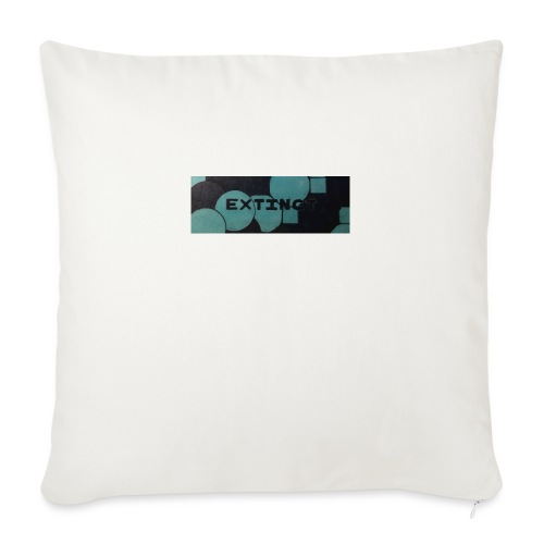 Extinct box logo - Sofa pillow with filling 45cm x 45cm