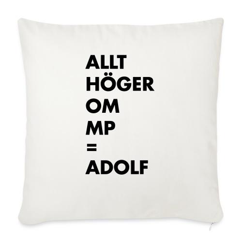 Allt höger om MP = Adolf - Soffkudde med stoppning 44 x 44 cm