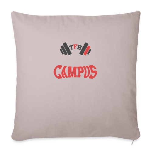 Tallason's Fitness Horizons Campus Design - Sofa pillow with filling 45cm x 45cm