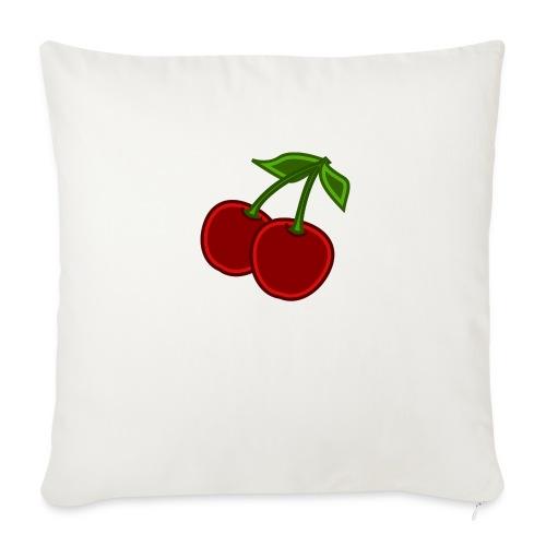 cherry - Poduszka na kanapę z wkładem 44 x 44 cm