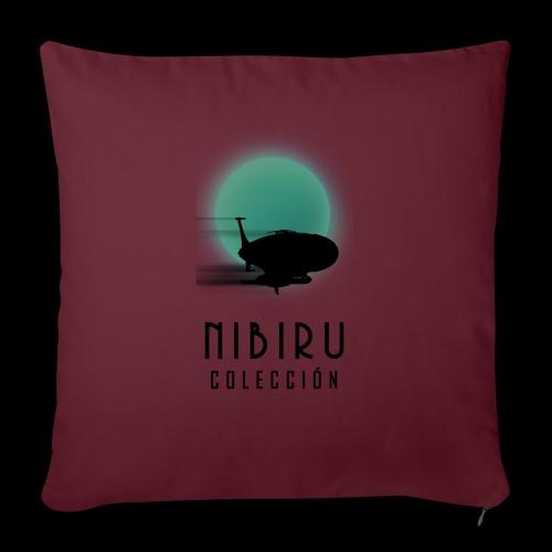 NibiruLogo - Cojín de sofá con relleno 44 x 44 cm