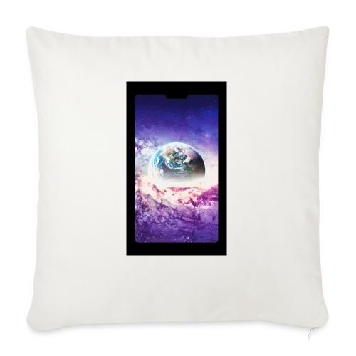 Univers - Coussin et housse de 45 x 45 cm