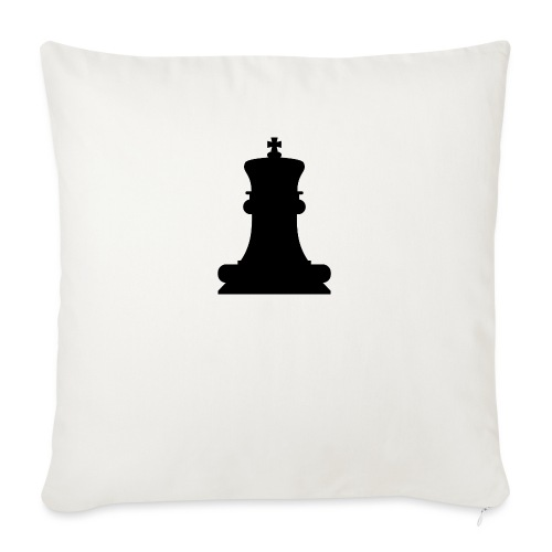 The Black King - Sofa pillow with filling 45cm x 45cm