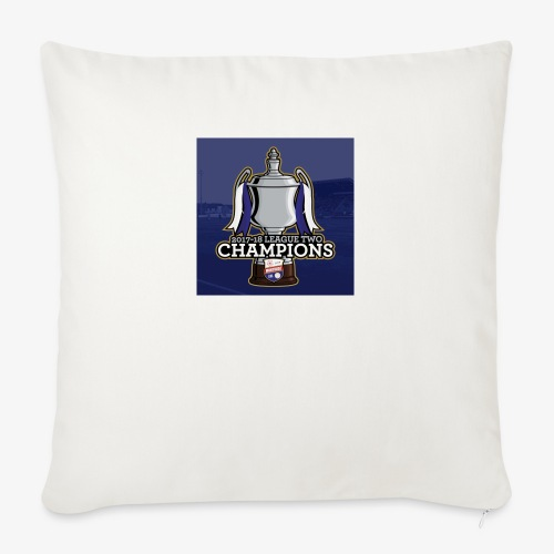 MFC Champions 2017/18 - Sofa pillow with filling 45cm x 45cm