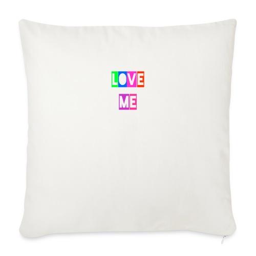 LoveMe - Cojín de sofá con relleno 44 x 44 cm