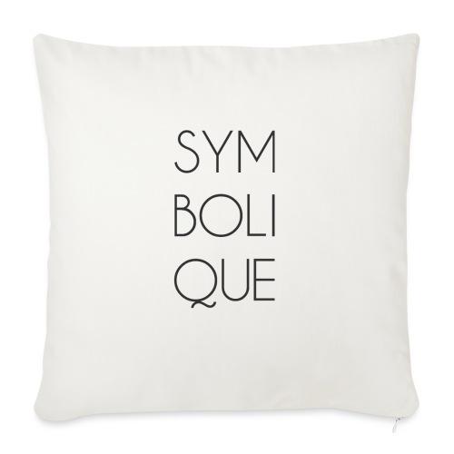Symbolique - Coussin et housse de 45 x 45 cm