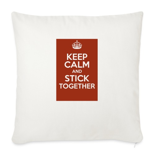 Keep calm! - Sofa pillow with filling 45cm x 45cm