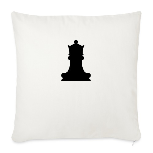 The Black Queen - Sofa pillow with filling 45cm x 45cm