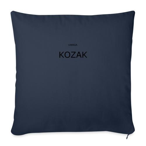 KOZAK - Poduszka na kanapę z wkładem 44 x 44 cm