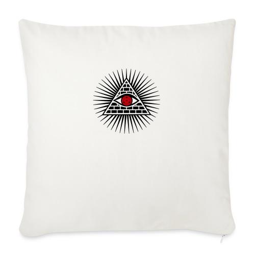 EYES - Poduszka na kanapę z wkładem 44 x 44 cm