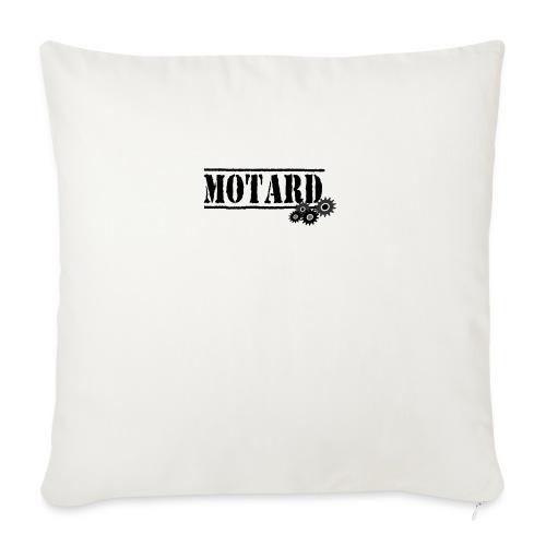 Motard Logo - Cuscino da divano 44 x 44 cm con riempimento