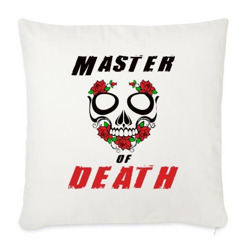 Master of death - black - Poduszka na kanapę z wkładem 44 x 44 cm
