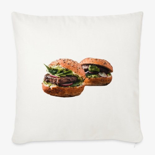 burger lover - Sofa pillow with filling 45cm x 45cm