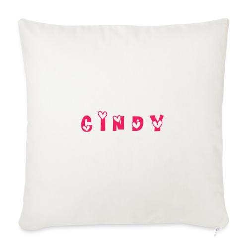Cindy - Coussin et housse de 45 x 45 cm
