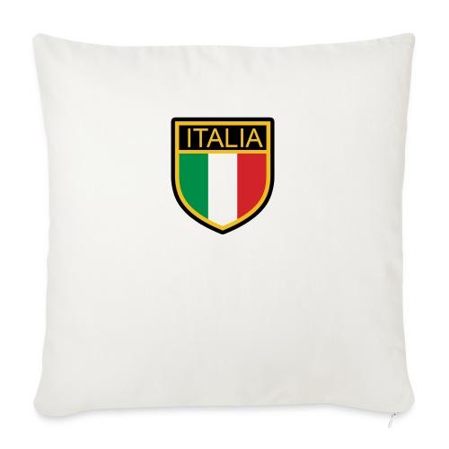 SCUDETTO ITALIA CALCIO - Cuscino da divano 44 x 44 cm con riempimento