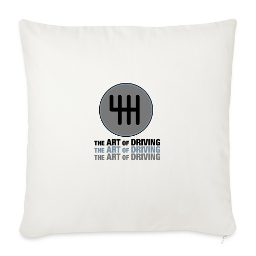 The Art of Driving Gear Nob - Sofa pillow with filling 45cm x 45cm