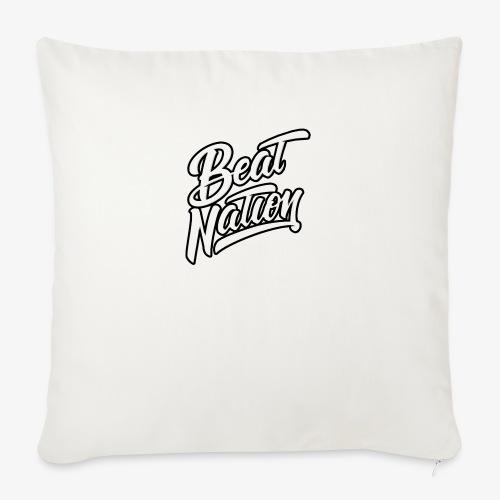 Logo Officiel Beat Nation Blanc - Sofakissen mit Füllung 44 x 44 cm