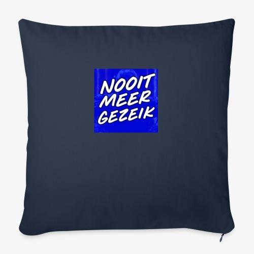 De 'Nooit Meer Gezeik' Merchandise - Bankkussen met vulling 44 x 44 cm
