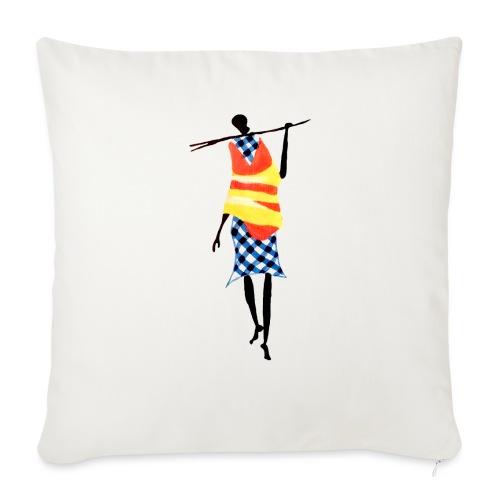 Color Stick Man - Sofapude med fyld 44 x 44 cm