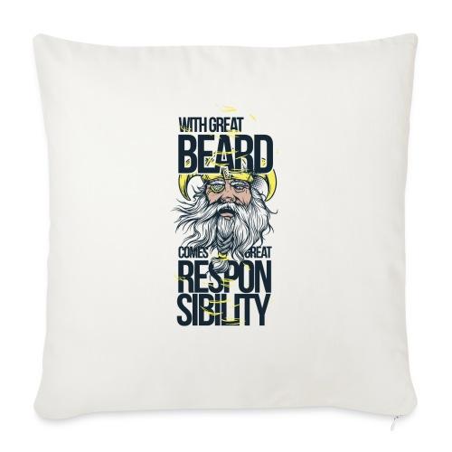 Beard - Soffkudde med stoppning 44 x 44 cm