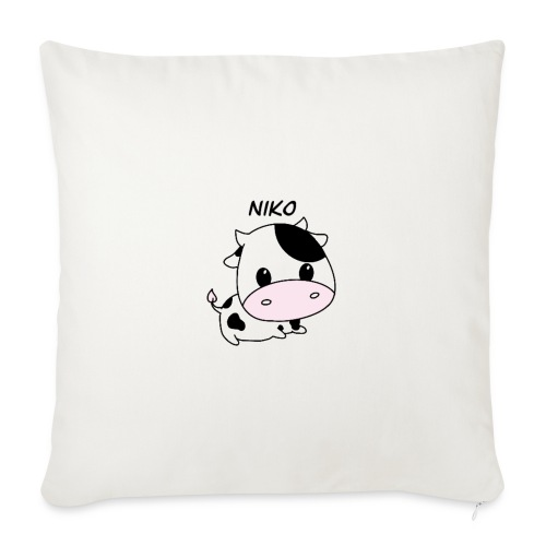 Pillow with cow on! - Sofapude med fyld 44 x 44 cm