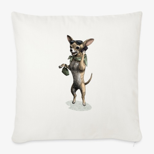 Chihuahua - Sofa pillow with filling 45cm x 45cm