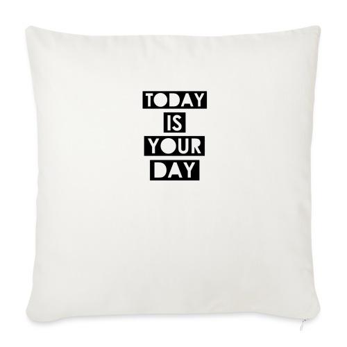Official Design Kompas Today is your day - Bankkussen met vulling 44 x 44 cm
