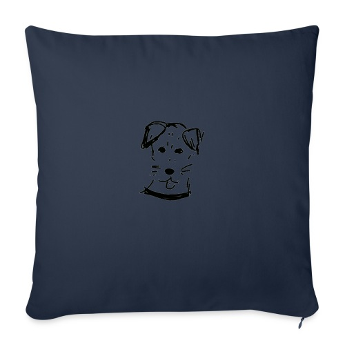 piesek a jpg - Poduszka na kanapę z wkładem 44 x 44 cm