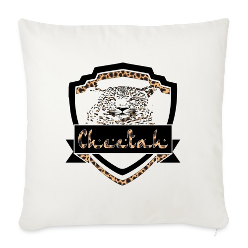Cheetah Shield - Sofa pillow with filling 45cm x 45cm