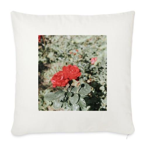 Red rose - Sofapude med fyld 44 x 44 cm