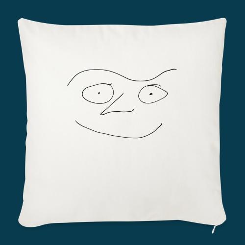 Chabisface Fast Happy - Sofakissen mit Füllung 44 x 44 cm