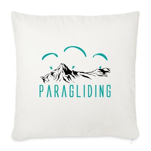 Paragliding Paragleiter Gleitschirm - Sofakissen mit Füllung 44 x 44 cm