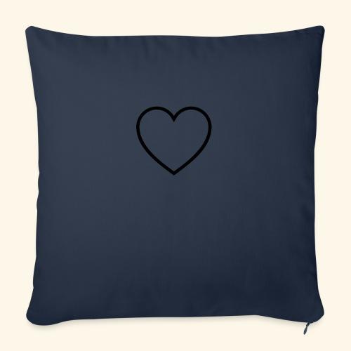 heart 512 - Sofapude med fyld 44 x 44 cm
