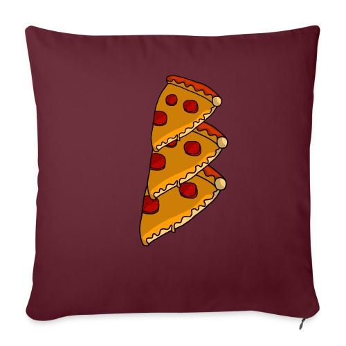 pizza - Sofapude med fyld 44 x 44 cm