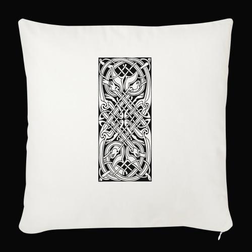 Keltisches Symbol 163 - Sofakissen mit Füllung 44 x 44 cm