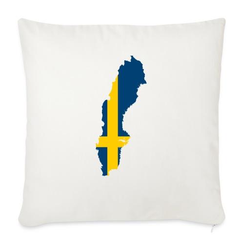 Sweden - Bankkussen met vulling 44 x 44 cm