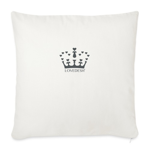 LD crown logo hearts png - Sofa pillow with filling 45cm x 45cm