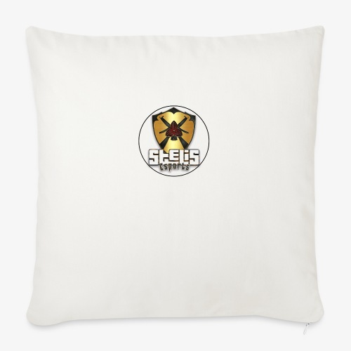 STELIS LOGO ROUND GOLD - Sofa pillow with filling 45cm x 45cm