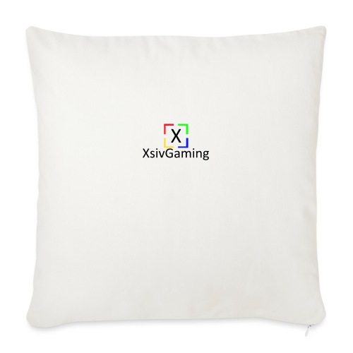 XsivGaming Logo - Sofa pillow with filling 45cm x 45cm